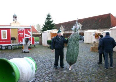 Juletræssælger