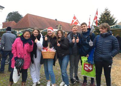 9. klasse fra Augustenborg Skole samler ind til deres studietur