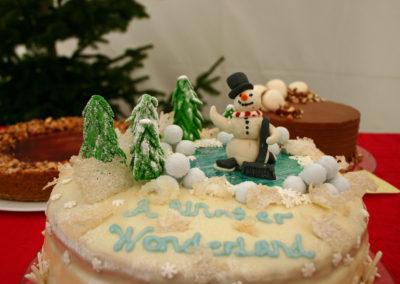 Kagekonkurrence med A Winter Wonderland fra Malene Madsen