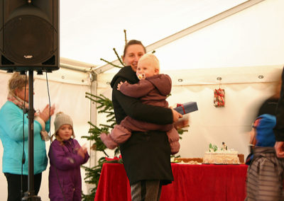 Vinderen af kagekonkurrencen blev Tina Hansen :-)